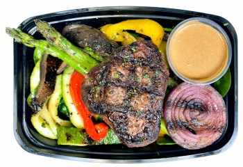 LEAN Peppercorn Coulotte w/ Grilled Veggies