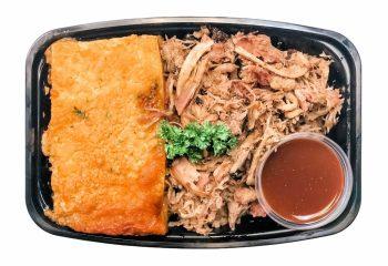 Chef B's KETO Carolina Hickory Pulled Pork & Cauliflower Mac
