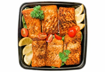MEAL PREP Clean Sixty South Salmon