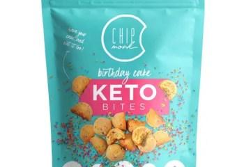 Keto Cookie Bites - BIRTHDAY CAKE
