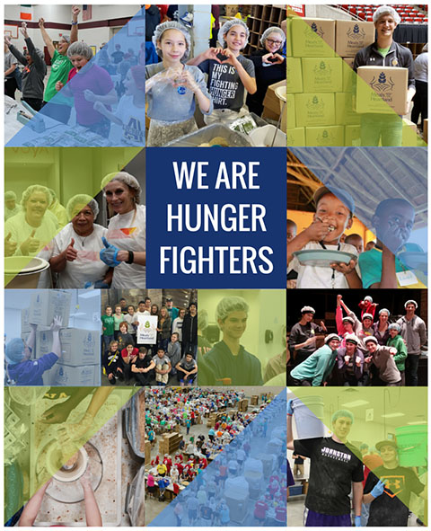 We are hunger fighters