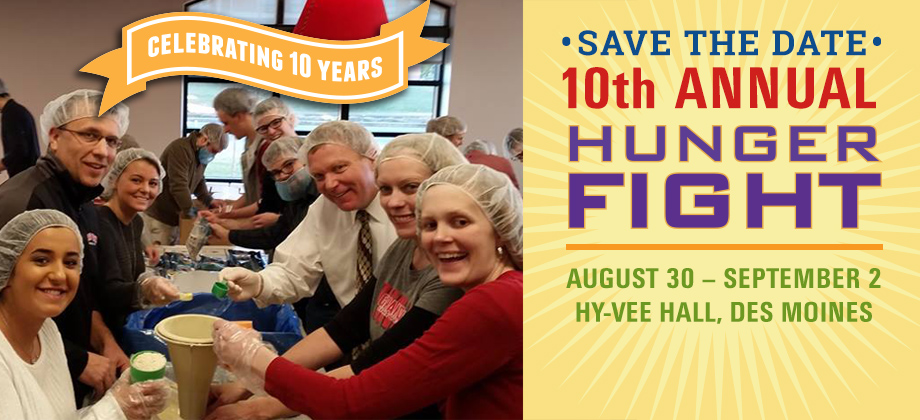 10th Annual Hunger Fight