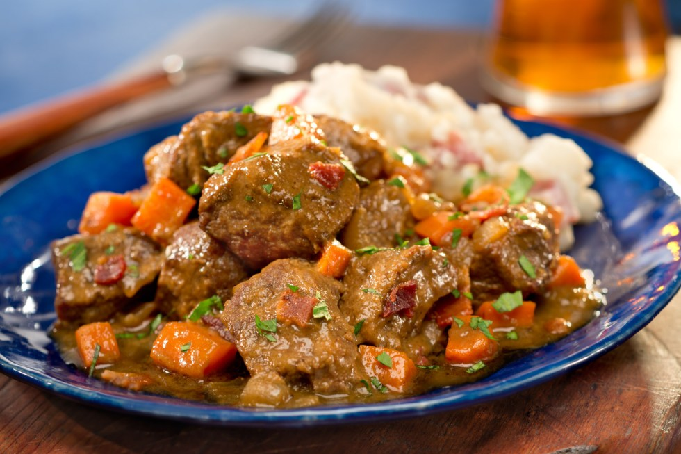 Slow Cooker Guinness Braised Beef