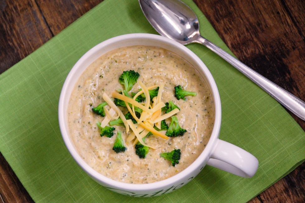 Creamy Beemster Broccoli Soup