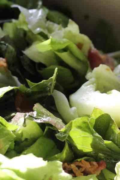 Hot Bacon Dressing | Serve with Endive or Spinach Salad