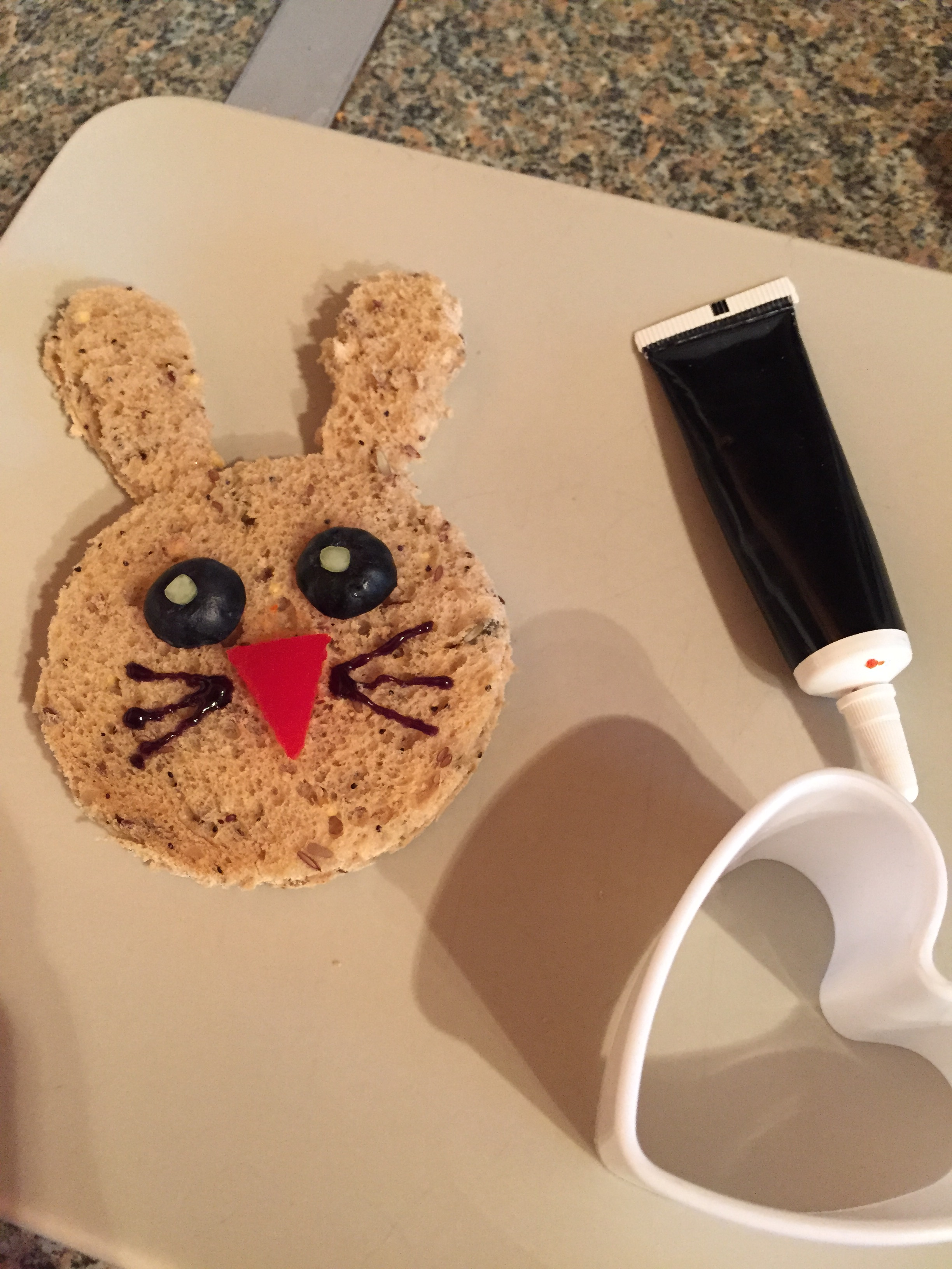 how to make easter bunny spring sandwiches fussy eaters picky toddlers