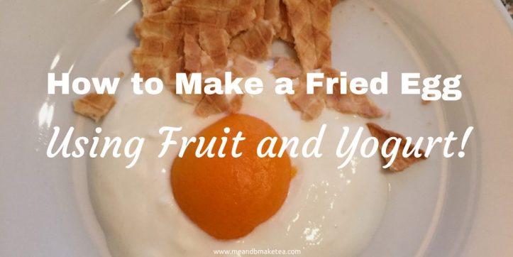 how to make fruit fried egg cooked breakfast alternative recipe breakfast idea granola yogurt recipe review