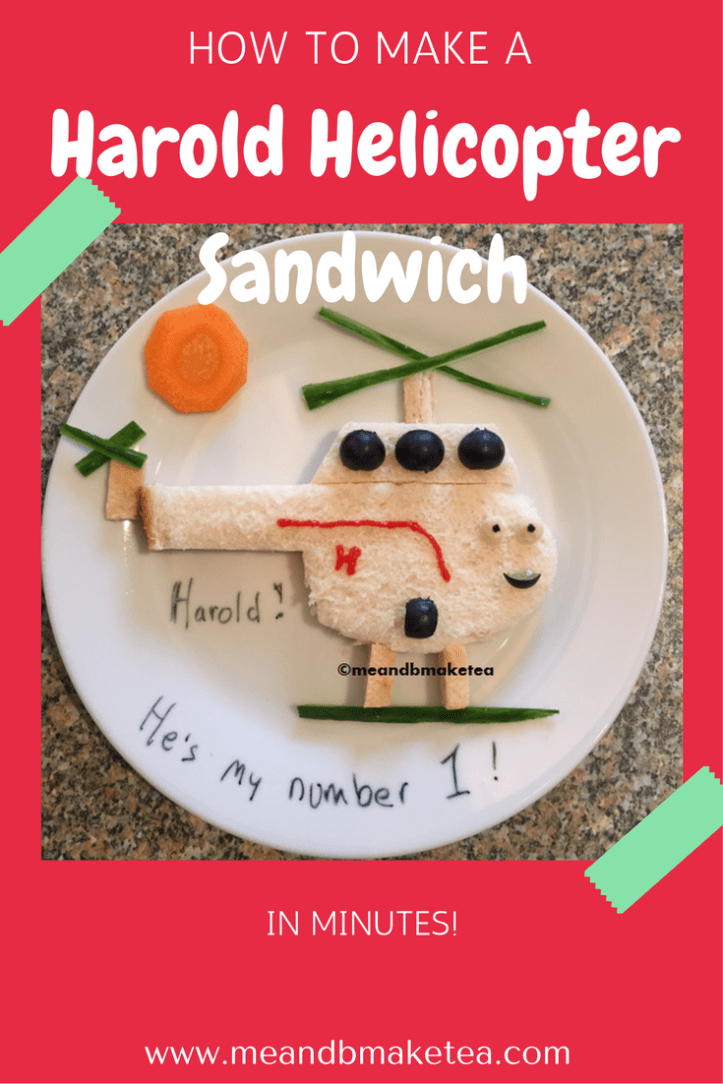 thomas the tank engine harold helicopter fun food sandwiches party toddlers kids ideas snacks treats