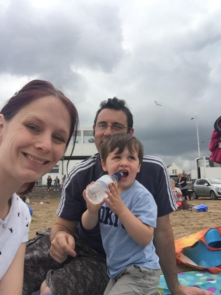 RAF Typhoon Weston Super Mare Ait festival beach