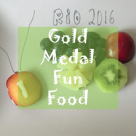olmypic medal rio 2016 games fun food for children