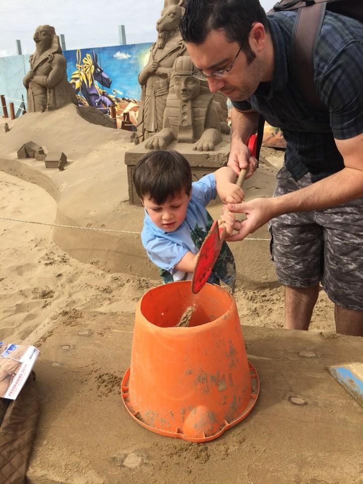 sand sculpture festival weston super mare review