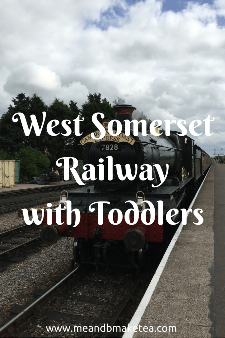 west somerset railway with toddlers review days out family kids
