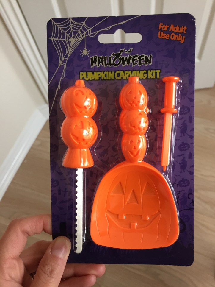 halloween home bargains review stock what to get party celebration carving a pumpkin how to