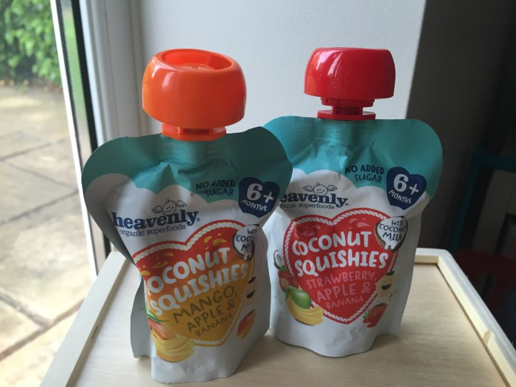 heavenly tasty organics freezing fruit puree babys blw weaning squishies review