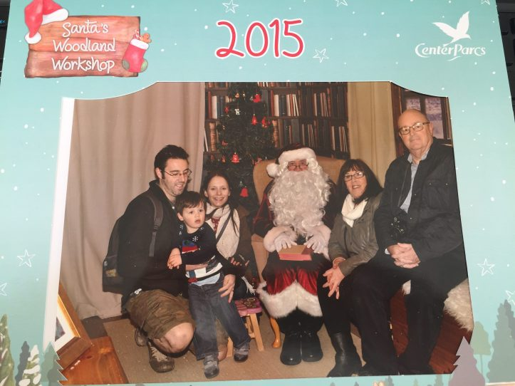 best santa grottos uk father christmas visit with toddlers review center parcs