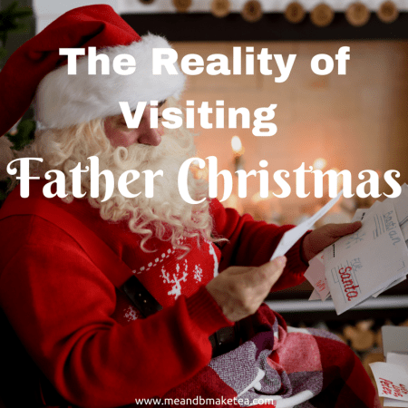 Father Christmas and the reality of visiting santa grottos with your kids