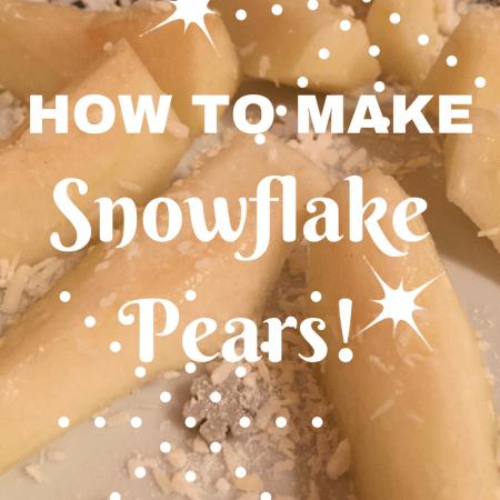making fruit fun for kids toddler babies weaning children christmas pears snowflake fun ideas