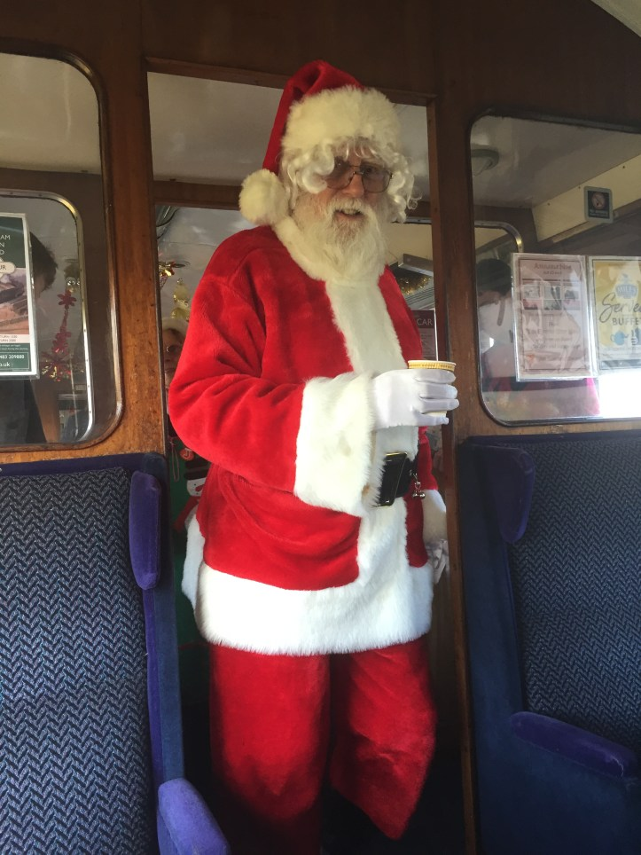 west somerset railway santa express price review experience for children toddlers family christmas things to do