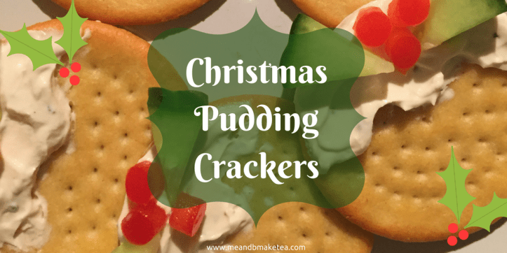 christmas pudding crackers easy to make cream cheese salad fussy eater picky children veg party