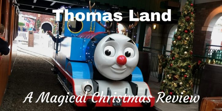 thomas land magical christmas winter theme park review for toddler best age to go