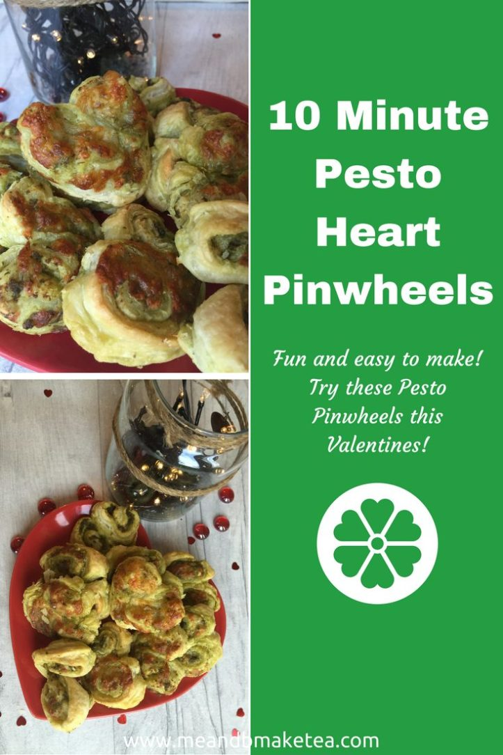 how to make valentines treats pesto puff pastry pinwheel swrils