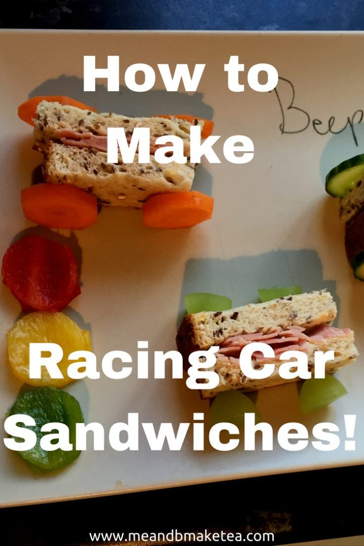 how to make a car sandwich lunch Perfect for picky eaters and fussy toddlers