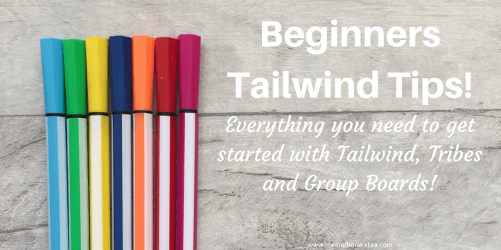 begginers tailwind tips for tribes and pinterest