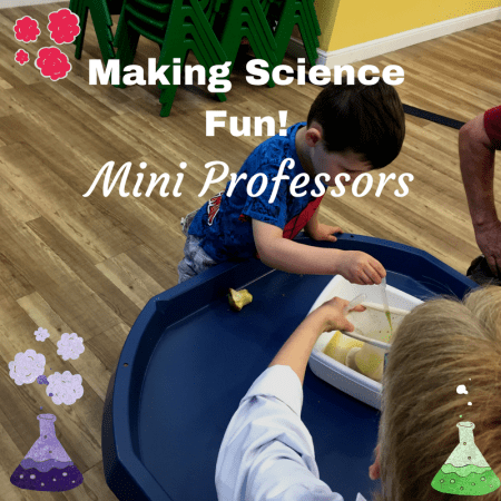Mini Professors making science fun stem play