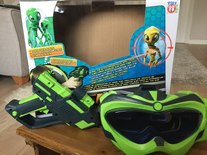 alien vision mission infrared review for children