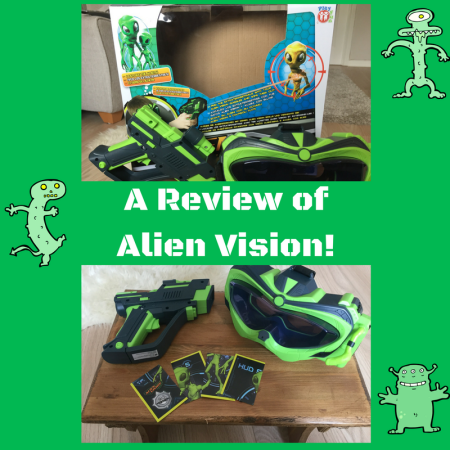 a review of alien vision night goggles infrared toy