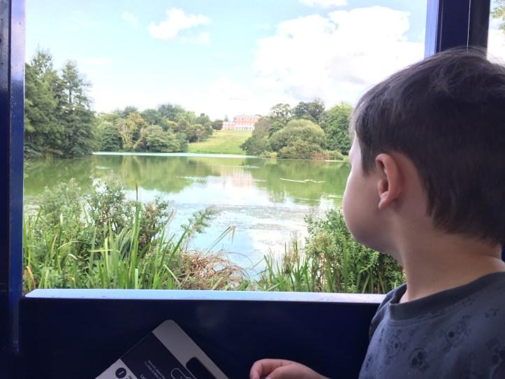 bicton botanical gardens in Devon railway ride