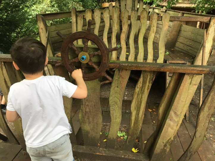 wildwood escot devon family day out outdoor playground pirate ship