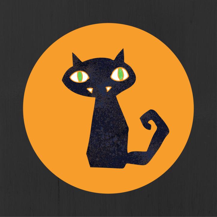 halloween printables free cat
