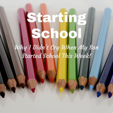 first day of school starting school