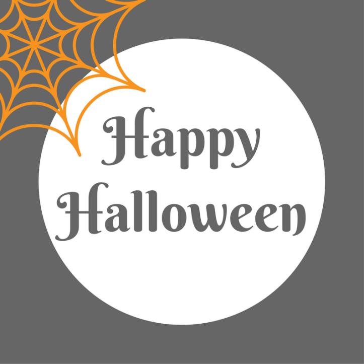 halloween printables free happy halloween text and cobweb - Halloween Traceables