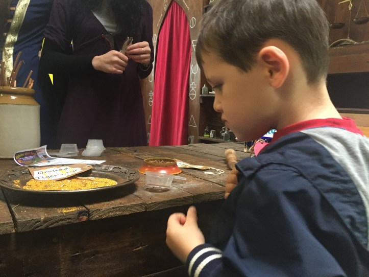 spell potion making at the milky way devon