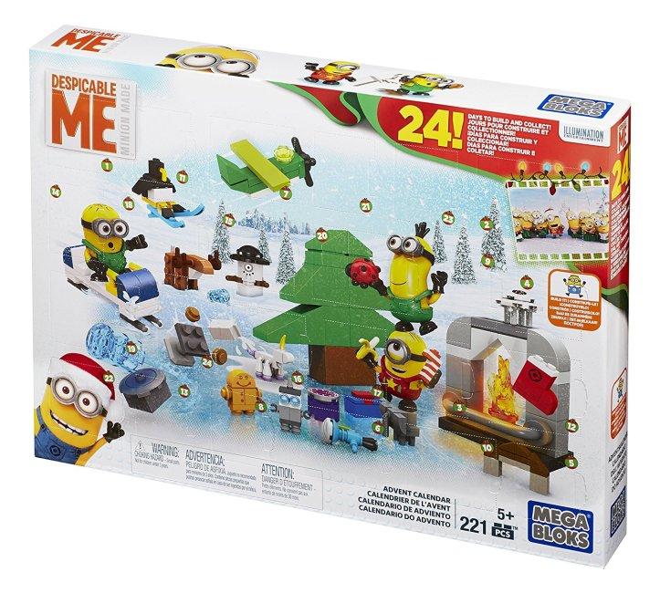 Mega Bloks Despicable Me Minions Advent Calendar