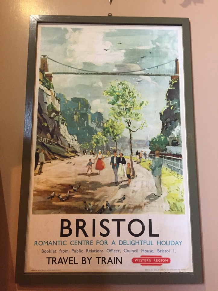 Watermouth castle theme park devon review bristol vintage poster