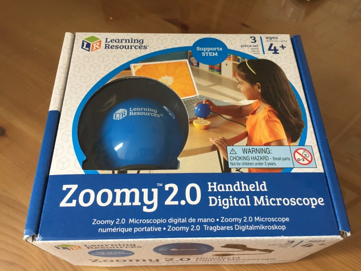 Zoomy 2.0 Handheld Digital Microscope learning resources
