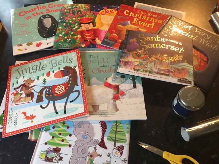 christmas book advent calendar books