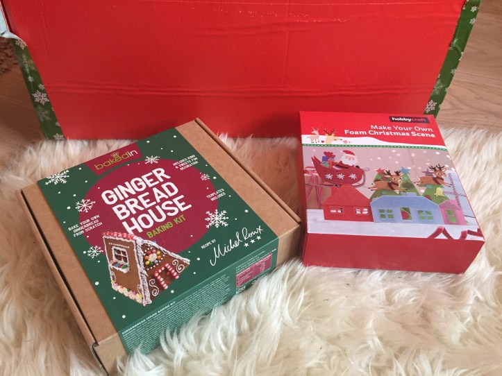 jet2 holidays christmas hamper gingerbread house