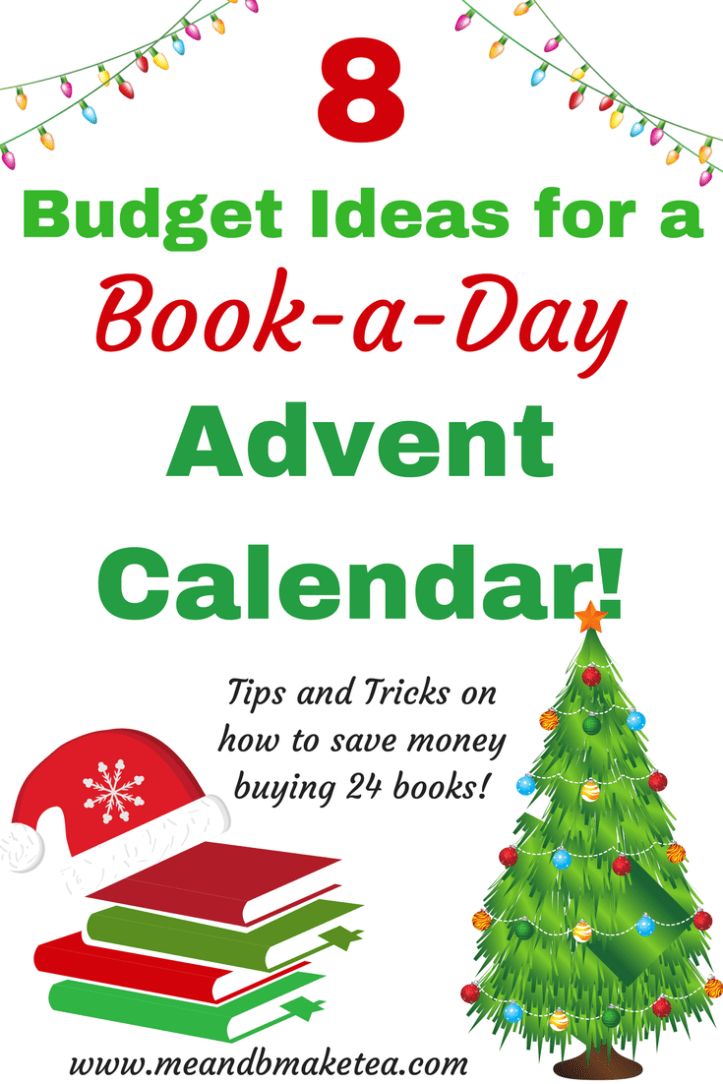 Book Advent Calendar Ideas : Tips on where to find bargain books for an advent