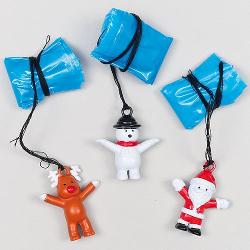 christmas parachutes