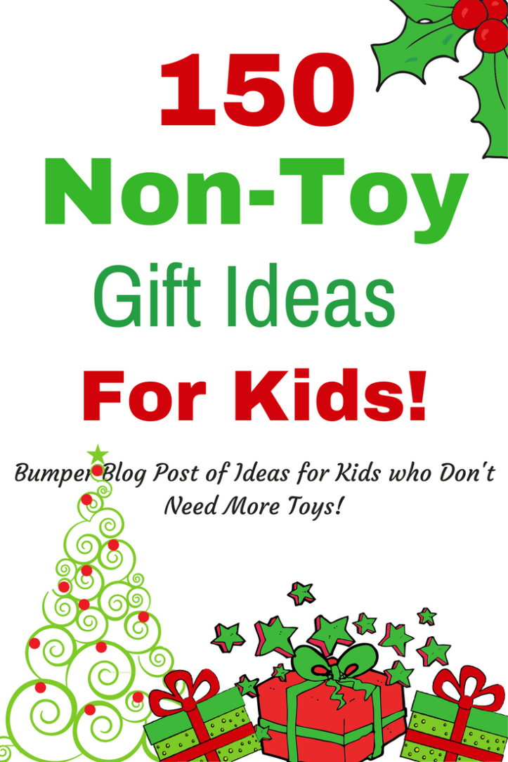 non toy gift ideas christmas for children kids families pinterest