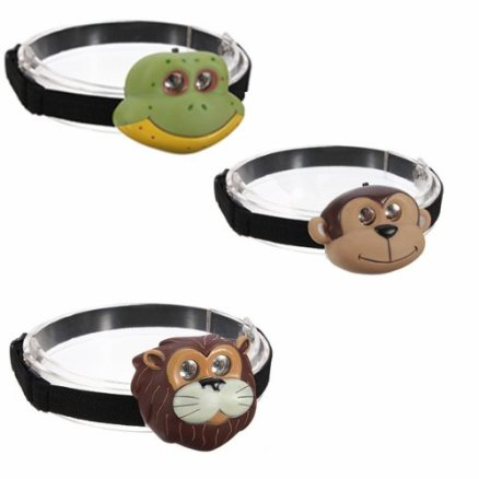 animal head torch
