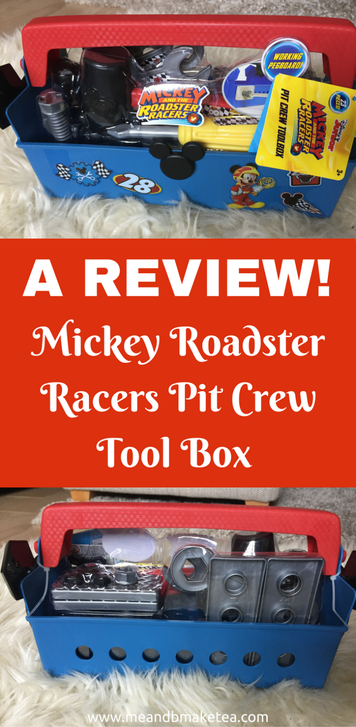 Mickey Roadster Racers Pit Crew Tool Box