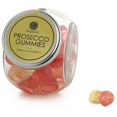 SugarSin Sparkling Prosecco Flavour Gummies Jelly Sweets