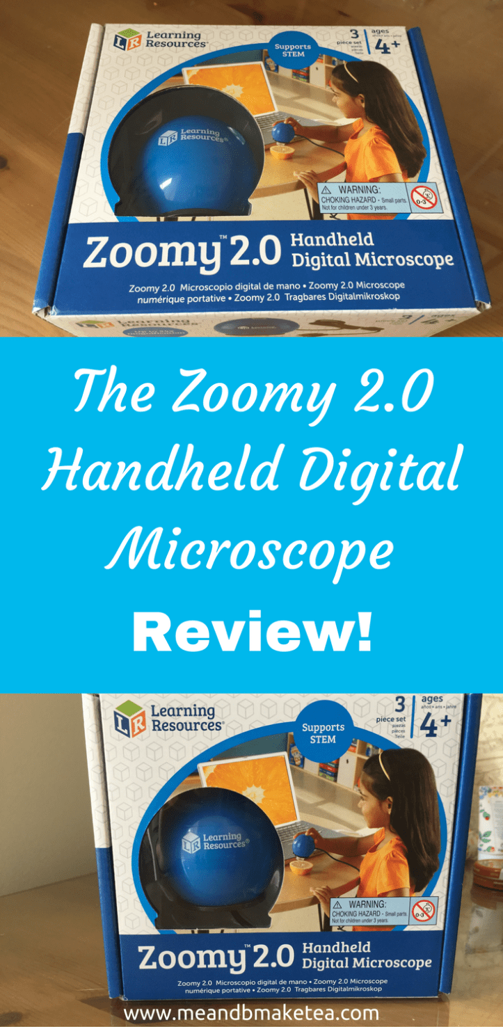 Zoomy 2.0 Handheld Digital Microscope learning resources pinterest image