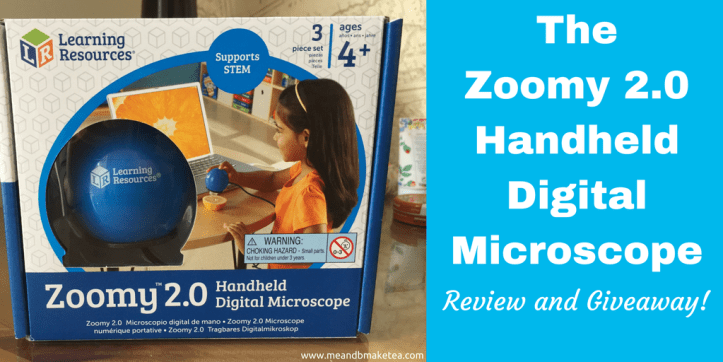 Zoomy 2.0 Handheld Digital Microscope learning resources twitter image