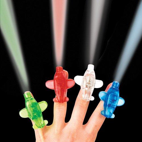 aeroplane finger lights